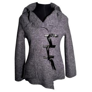 Eva jakke, grå