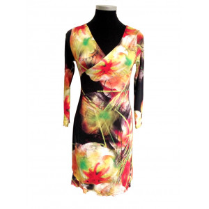 Spacy flowers, slå om kjole