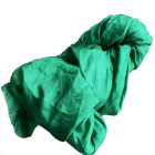 Silkesjal, grøn