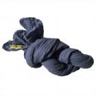 Uldtørklæde, mellemblå