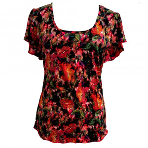Iris t-shirt, flower