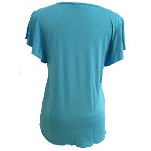 Iris t-shirt, tyrkis