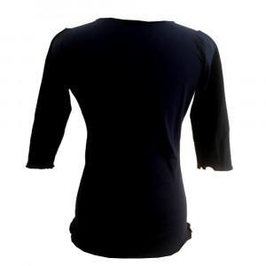Rikke, t-shirt med bådhals