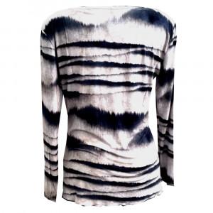 Zen, bambus t-shirt med lange ærmer